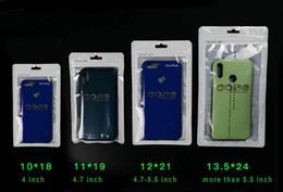 staubdichte abdeckung Rabatt 4 Szie Große Größe Kleinpaket Beutel OPP Poly Kunststoff Staubdicht Tasche für Samsung Galaxy S8 iphone 7 5 Fall Abdeckung