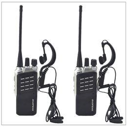 Canada 2pcs / Lot Baofeng BF-658 UHF 400-470MHz Radio émetteur-récepteur portable Baofeng Walkie-Talkie pour jambon, hôtel avec écouteur gratuit cheap earpiece two way radios Offre