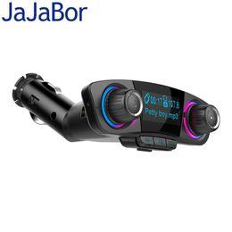modems lte 4g desbloqueados Desconto JaJaBor Transmissor FM Bluetooth Carkit AUX de áudio MP3 Player modulador FM Handsfree Grande Tela Suporte de reprodução Pasta
