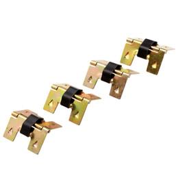 Встроенные шкафы онлайн-фурнитура для 20шт. золотые петли для шкафов аксессуары маленькая деревянная подарочная коробка декоративные петли для мебельной фурнитуры 19x18 мм