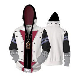 Hoodies & Sweatshirts Yu-gi-oh Mutou Yugi Kaiba Split Hoodies Women Men 3d Printed Sweatshirt Tracksuit Fashion Streetwear Casual Hoodie Sweatshirt