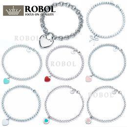 gravure en bracelet 925 Promotion Bracelet avec pendentif en argent sterling 925 de haute qualité avec inscription gravée POUR Femme modèle original
