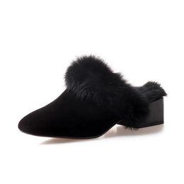 Pantalones cortos de med online-VENTA CALIENTE Zapatillas clásicas de algodón cálido Zapatillas para mujer Med Tacones Botas cortas Botas para mujer Botas para la nieve Zapatillas de algodón 35 ~ 43 envío gratis