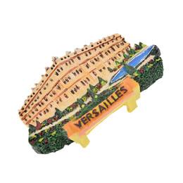 Neveras modernas online-Lychee Life France Versailles Scenic Imanes de Nevera Vista turística famosa Imán de refrigerador Modern Home Kitchen Decor Collection