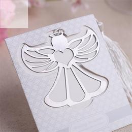 taufgeschenke gäste Rabatt 20 stücke Partei Liefert Engel Lesezeichen für Taufe Baby Shower Souvenirs Hochzeit Gefälligkeiten und Geschenken für Gast
