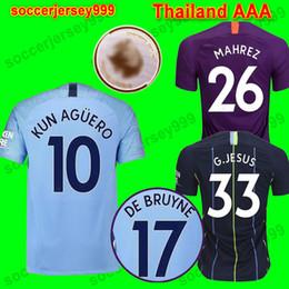 fd5cf36193b ravens baltimore Promo Codes - 19 18 De Bruyne MAHREZ JESUS MENDY soccer  jersey 2018 2019