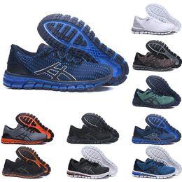 gel de zapatillas Rebajas Asics shoes Gel-Quantum 360 SHIFT Estabilidad Zapatillas T728N bule blanco atlético deportivo al aire libre Jogging zapatos zapatillas de deporte de las mujeres de talla 8-11