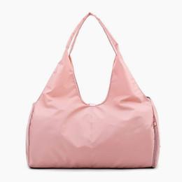 3d4dd1f1b9b6 Lady Black Travel Bag Pink Color Sequins Shoulder Bags Women Handbag Women  Weekend Portable Nylon Tote Waterproof Handbags 2019