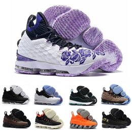 new arrival 76d57 7a10d Lebron 15 lebrons lbj James 15s Purple Rain Basketball-Schuhe Fruity  Pebbles Crimson Vlot EQUALITY Waffel Hollywood Designer Shoes Sportschuhe  günstig ...