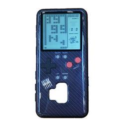 Консольная игра тетрис онлайн-Tetris Handheld Игровые приставки hpone случай Силикагель защитный рукав Портативный ретро мини игровой консоли для Samsung s9 s9 плюс