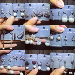 la farfalla acrilica borda all'ingrosso Sconti Designer di gioielli di lusso Orecchini da donna Marchio di moda Orecchini in argento sterling 925 Orecchini di perle Lady Orecchini lunghi di perle Regalo