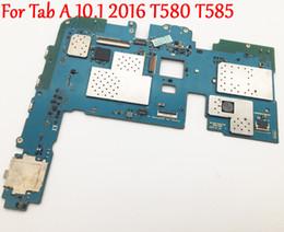 Canada Original Full Work Déverrouiller la carte mère Pour Samsung Galaxy Tab A 10.1 2016 T580 T585 Circuit Logique Panneau Électronique Testé supplier bar electronics Offre