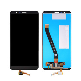 parts for huawei Coupons - 10pcs For HUAWEI Honor 7X LCD Display LCD Screen Digitizer Touch Panel Assembly Parts