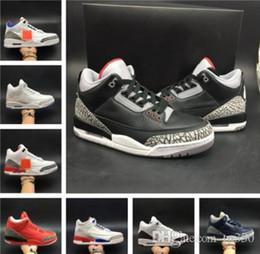 Multi line online-Uomo Scarpe 3 Tinker JTH NRG Line Nero Bianco Cemento Katrina Clorofilla Uomo Sneaker sportiva con scatola