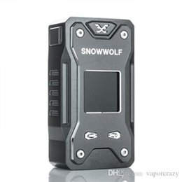 Caja sigelei online-100% original Snowwolf Xfeng 230W TC Mod Box Fit para Dual 18650 Sigelei lobo de la nieve Xfeng 230W Vape Mod