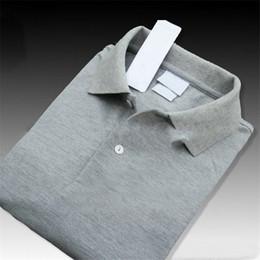 2019 Marque Designer D'été Polo Tops Broderie Hommes Polo Chemises De Mode Chemise Hommes Femmes High Street Casual Top Tee Chaud ? partir de fabricateur