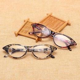4c1f8a02b43 cat eye optical glasses Canada - Full Frame Cat Eye Reading Glasses Eyewear  Women Men Optical