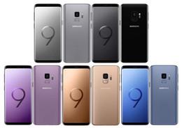 Восстановленное оригинальный разблокирована Samsung Galaxy S9 плюс 6,2 дюйма 6 ГБ оперативной памяти 64 ГБ Android 8.0 отпечатков пальцев IP68 Водонепроницаемый телефон от