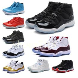 Canada Avec la boîte nouvelle qualité 11 Mens 11s Basketball Shoes Femmes Concord hommes 45 Platinum Designer paniers Sport Baskets chaussures Sneakers Offre