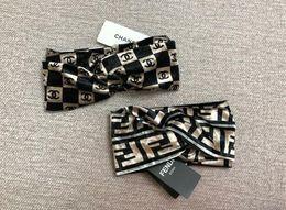 Wollkopf schals online-Luxus Schal Stirnband G Designer haarbänder 100% Wolle Hochwertige Mode Männer Frauen Kopf Bands Berühmte Turban HeadWraps Schal