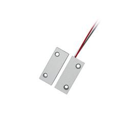 Sensori magnetici di allarme domestico online-Sensore magnetico per porte Sicurezza domestica Contatto Sistema di allarme Accessori per porte scorrevoli Sistema di monitoraggio porta antincendio personalizzato di alta qualità