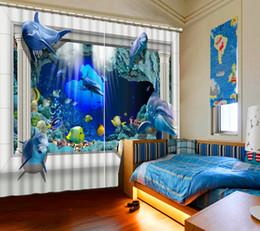 Porta di bambù online-Bamboo Door Curtain Thermal Insucated 3D Roller Finestra CuEuropean Modern Curtans Per soggiorno Bambini Tende Ganci Tessuto Bamboo Door Curt