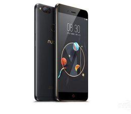 Zte 4g lte телефонов онлайн-Глобальная прошивка ZTE Nubia Z17 Mini 4 ГБ / 6 ГБ ОЗУ 64 ГБ ROM Мобильный телефон Snapdragon652 Мобильный телефон с двойной задней камерой FDD LTE 4G NFC