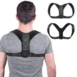 Sous vetement femme en Ligne-Correcteur de posture shapewear réglable en haut du dos pour hommes sous vêtements épaule support ceinture corset corset corps shapers femmes