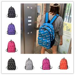 Unisex Designer Umhängetasche Champion Print Rucksack Frauen Männer Laptop Taschen Marke Große Kapazität Reise Studenten Schultasche Daypack B71304 von Fabrikanten
