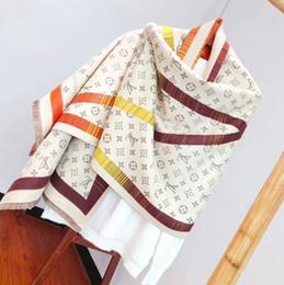 2020 cobertores grandes Moda Top Inverno 100% Cashmere Luxo lenço para mulheres e homens 2019 Designers Grande cheque gigante Blanket Lenços Infinito Marca Scarf desconto cobertores grandes