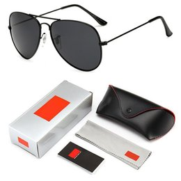 ms frames Coupons - 2019 Sunglasses Men's Vintage Sunglasses Ms. Frame Glare Pilot Aviation Sunglasses 11 Color Driving Eye Glasses with logo and box