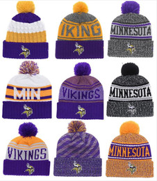 Cappelli all'ingrosso viking online-Nuovi cappelli invernali delle donne degli uomini delle donne degli uomini di pom dei cappelli all'ingrosso dei cappelli di modo dei cappelli di lana dei cappelli di moda di Vikings