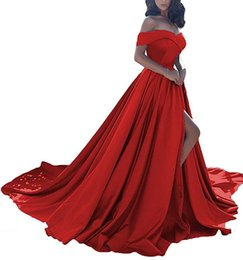 2019 romantische abhollinien Fashion Red A-Line Abendkleider Perlen Sexy Zurück Lace-up Kleider für besondere Anlässe Sweet Design Romantic Prom Dresses 2019 günstig romantische abhollinien