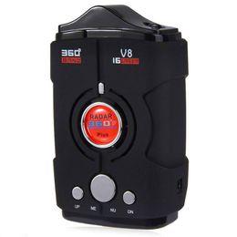 Canada Laser de version russe / anglais de la version 16 bandes de la voiture V8 anti laser chaud Offre