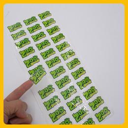 Autocollants pvc personnalisés en Ligne-Custom clear logo étiquette adhésive translucide emballage étanche autocollant étiquette transparente PVC autocollant extérieur étiquette de promotion
