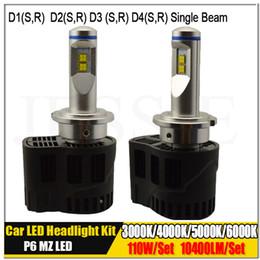 P6 führte scheinwerfer online-2 X D1 D1S D1R D2 D2S LED Canbus 10400Lm P6 MZ 110W LED Autolampe Autolampe Scheinwerfer Nebelscheinwerfer Umbausatz 11V-30V DC