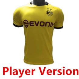 Spielerversion Thai BVB Borussia Dortmund Fußballtrikot 2019 2020 GOTZE REUS BRANDT HUMMELS Trikot 19 20 PACO ALCACER Fußballtrikot TOP Trikot von Fabrikanten