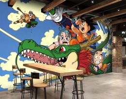 Carta da stampa di decalcomanie a parete online-[Autoadesivo] 3D 998 Giappone Anime Carta da parati murale Stampa murale Adesivi murali