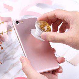 Universal Handy Unterstützung Halterung Air-Bag Handyhalter Phantasie Bunte Quicksand Flüssigkeit Glitter Bling Griff Halterung Ständer von Fabrikanten