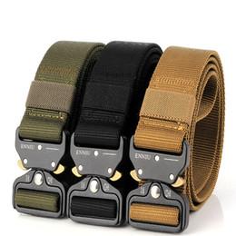 Hebilla de seguridad de liberación rápida cinturón de nylon gancho de metal diy deportes al aire libre cinturón táctico accesorio de la joyería ljjs151 desde fabricantes