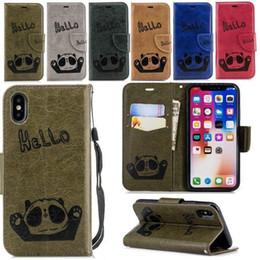 Huawei P20 Panda Geprägte Handyabdeckung MatE20 Variable Farbe Gedruckt Kartenmappe Nokia 5.1 Schutzhülle von Fabrikanten