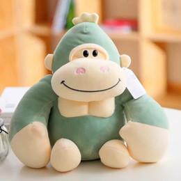 2020 brinquedos de pelúcia de pelúcia por atacado Brinquedos de pelúcia gorila de páscoa stufffed animais decoração 23 cm bonito coelho macio animais gorila brinquedos de pelúcia atacado brinquedos de pelúcia de pelúcia por atacado barato