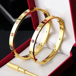 2019 braccialetti d'argento puro all'ingrosso Hot 316L in acciaio inox Bangle amanti tyme h Bracciali Braccialetti per donna Uomo Bracciale gioielli carter Vite Bangle regalo 2019