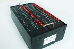 desbloquear 3g hsdpa modem Desconto Freeshipping 32 PORT Wavecom Q2403 modelo modem GSM piscina interface USB