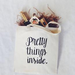 Belos sacos com zíper on-line-Bonito tings dentro de sacolas de lona Sacos de compras de lona Bolsa de viagem Bolsa de cosméticos com zipper mercearia reutilizável