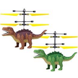 НОВАЯ индукционная летающая игрушка динозавр летающая фея подвесной светящийся хрустальный шар вертолет индукционный самолет как детские игрушки от Поставщики оптовая игрушка вертолета стрелки