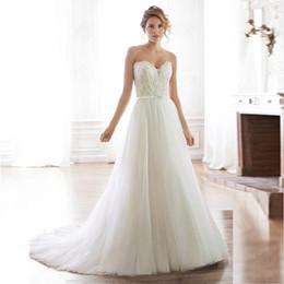 um ombro frente vestido de casamento curto Desconto Marfim Lindo Sheer Mangas Compridas Vestidos de Casamento Sexy Backless Lace Tule Vestidos de Noiva Robe De Mariage 2019