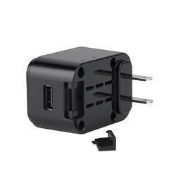 Cámara de adaptador de enchufe de cargador inalámbrico de 1080P WIFI con salida USB 24 horas de grabación Máx. 128G desde fabricantes