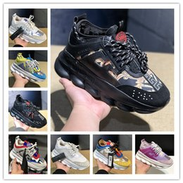 shoe box creepers Coupons - 2019 mens casual shoes fashion classic male height increasing chains sneakers women thick platform shoes creepers female casual flats tennis