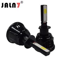 Canada 2pcs style de voiture CS8 H13 LED kit de conversion de voiture Cob ampoules Hi / Lo Remplacer la tête de voiture brouillard DRL lumière blanc 6500K cheap car light styling Offre